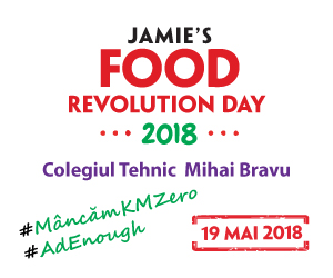 Gabriella Pascaru Bisi, foodrevolution ambassador, food revolution day 2018, 19  mai 2018